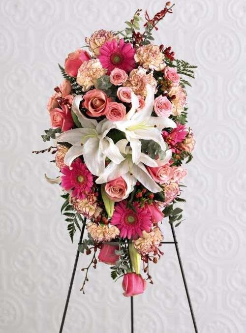Model Karangan Standing Flower Wedding Tercantik Florist Di Bandung